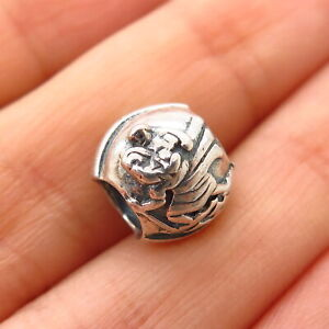 925 Sterling Silver Chamilia St. Christopher Religious Bead Charm