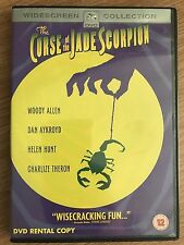 Woody Allen CURSE OF THE JADE SCORPION ~ 2002 Comedy | Rare UK DVD