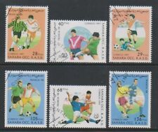 Sahara Occidental RASD - 1997, World Cup Football set - CTO (b)