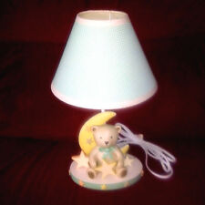 Lambs & Ivy DREAMS & WISHES Teddy Bear Nursery Lamp Light Matches My Bedding Set