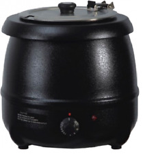 More details for quantum ce ® electric soup kettle 10 ltr commercial catering curry stew ksl-sk