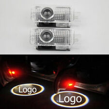 2pcs Door Projector Car Logo Led Light Shadow Ghost Lamp Welcome Laser for Audi