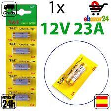 1 PILA PILAS 23A 12 v baterías 23AE MS21 A23 V23GA VR22 MN21 N *Envío GRATIS des
