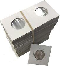 Quarter Size 2x2 Coin Cardboard Mylar Flips Holder Bundle of 100 Cowen's US Best