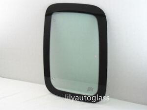 Fit 97-03 Ford F150 97-99 F250LD Driver Left Quarter Window Glass Clear MVBL
