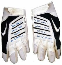 ROBINSON CANO GAME USED HAND SIGNED YANKEES BATTING GLOVES