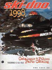 1998 SKI-DOO TOURING E, LE, & SLE PARTS MANUAL P/N 480 1441 00   (493)