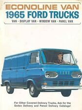 1965 Ford Econoline Van Truck Sales Brochure wf6112-VGD6XY
