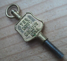Advertising Pocket Watch Key - Ted Keey Kenfig Hill Bridgend South Wales - no. 7
