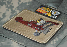 USAF MIG KILLERS FIGHTER SQUADRON νeΙcrο INSIGNIA: Snoopy Red Baron JIHAD THIS