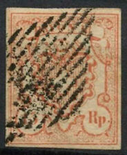 Switzerland 1852 SG#20, 15R Vermilion Used #A90980