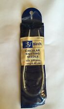 BIRCH circular knitting needles size 3.00 length 40cm new unused