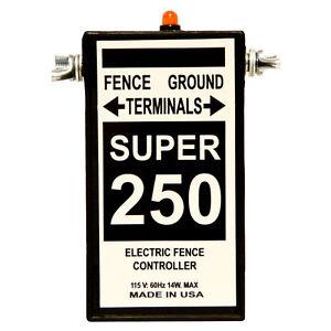 Fence Charger Silver Streak Super 250 / Free Lightning Diverter