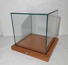 New Listingglass Cube Locking Counter Display Vitrine Case Showcase Museum Jewelry Retail
