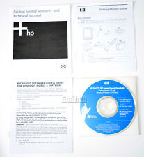 HP iPaq 100 Series Classic Handheld Getting Started CD + Guide. iPAQ 111 116