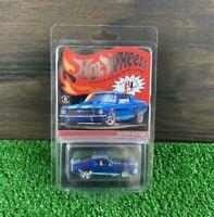 Hot Wheels RLC Exclusive Custom Mustang Original 16 Blue 2020 #7531 In Hand