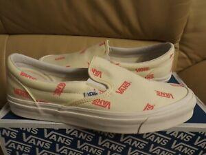 Vans Og Classic Slip-On Canvas Men's Size 12 Shoes Rutabaga Calypso VN0A45JKVQH
