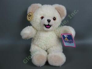 "NEW Vintage 1986 Snuggle Softener Russ 10"" Stuffed Animal Plush Teddy Bear NWT"