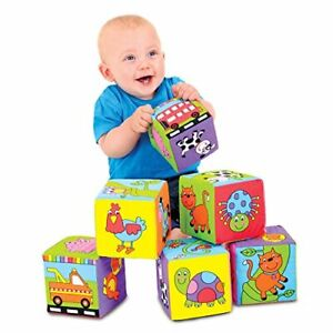 Soft Blocks, Stacking Toy, Ages 6 Months Plus
