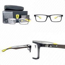 Authentic Ray Ban Ferrari RX8901M F636 Transparent Grey Carbon Fiber Eyeglasses