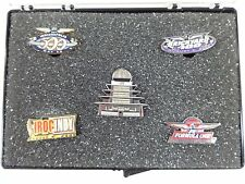 2000 IMS Event 5- Lapel Pin Set Indy 500 Brickyard 400 Iroc Formula One Pagoda