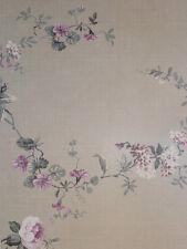 """""""Aromas"""" Vlies-Tapete 620-1 Floral Blumen grau-rosa Landhaus-Stil (6.25 Euro/m²)"""