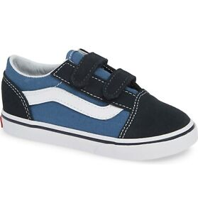 Vans Toddler Old Skool V Navy VN000D3YNVY