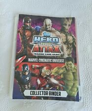 More details for topps hero attax marvel cinematic universe complete set of 54 cards + 1 x 3d.