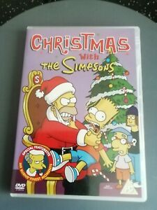 Christmas with the Simpsons DVD. Cert PG