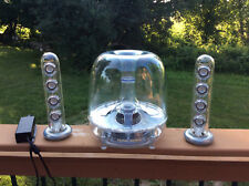 Harman Kardon Soundsticks II Clear Speaker AUX surround style system plug n play