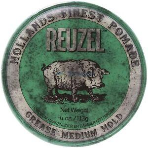 Reuzel Green Pomade Grease 4 oz