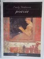 Poesie testo inglese a fronteDickinson emilyl'unità crocetti cinema44poesia