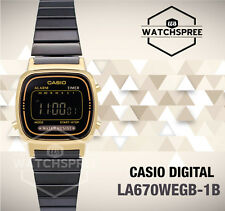 Casio Standard Digital Vintage Series Watch LA670WEGB-1B