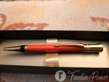 Parker Duofold Orange & gold Made UK Ballpoint Pen bolígrafo NEW