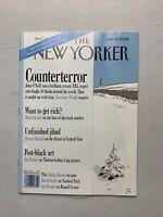 The New Yorker Magazine January 2002 - John O'neil
