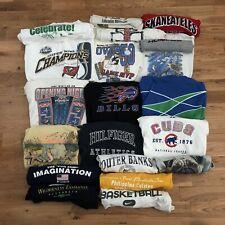 Vintage Lot Of 20 90s 2000s y2k Wholesale Graphic Print T-Shirt S M L XL Sports