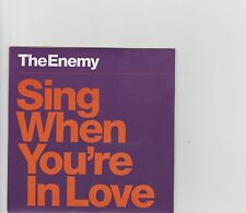 Enemy-Sing when you're in love  promo cd single