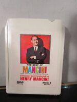 Henry Mancini: The Best of Mancini - 8 Track Tape Cartridge~