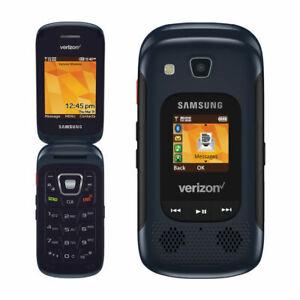 EXCELLENT 3G Samsung Convoy 4 SM-B690 Verizon Basic Flip Cell Phone GSM Capable