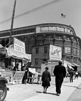 Ebbets Field Photo 8X10 - 1940's Brooklyn Dodgers Flatbush  Buy Any 2 Get 1 FREE