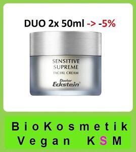 Duo Sensitive Supreme 100 ml für sehr sensible Haut Dr.Eckstein Biokosmetik