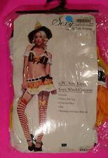 Leg Avenue 3pc.Sexy Kandy Korn Witch*No Stockings(Halloween)Adult Costume(M/L)