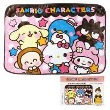Sanrio Yuru-Kawa Characters Meyer Blanket/With Snap Button/Polyester/Warmer/New