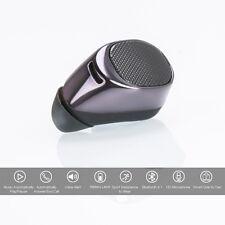 Small Mini Wireless Bluetooth Stereo In-Ear Earphone Headphone Headset