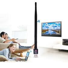 600M USB 2.0 Wifi Router Wireless Adapter Network LAN Card with 5dBI Antenna