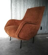 Italian Mid century Lounge chair by ISA Aldo Morbelli 1950s