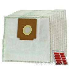 Cloth Hoover Bags for ELECTROLUX Z2100 ZANUSSI ZAN3002 Vacuum x 10 + Fresheners