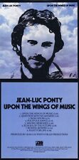 "Jean-Luc Ponty ""Upon the alas of music"" 1975! Excelente Fusionjazz! Nuevo CD!"