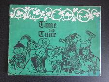 BBC Time and Tune  - Autumn 1965 - Children Songbook