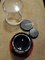 Exc+ Asahi Pentax-110 50mm f2.8 Lens for Sub-compact Camera Japan Caps and Case
